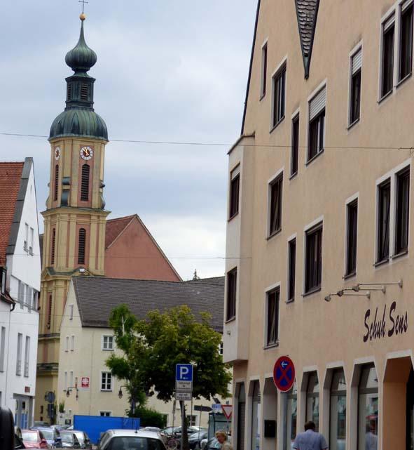 In Neuburgs Unterstadt